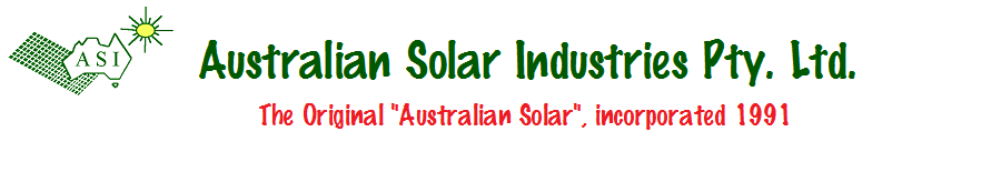 Australian Solar Industries